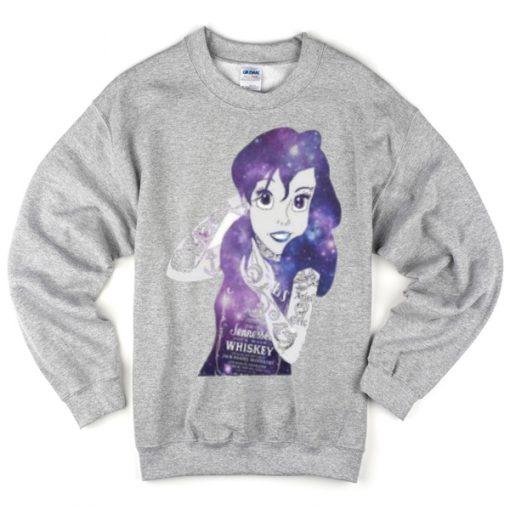 Ariel little mermaid sweatshirt