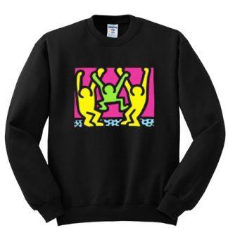 Keith Haring Dancing sweatshirt