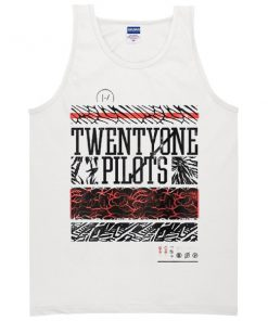 Twenty One Pilots Patterns Tank Top