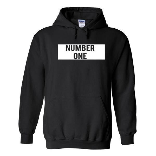 number one hoodie