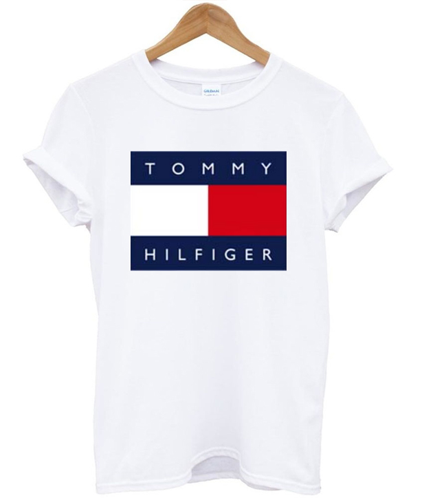 tommy hilfiger t shirt basic tees shop on the hunt. Black Bedroom Furniture Sets. Home Design Ideas