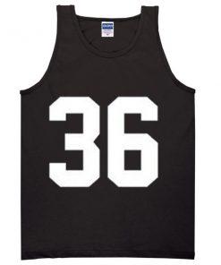 36 jersey Tanktop