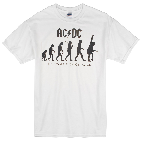 AC DC Evolution T-shirt