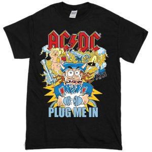 AC DC Unplugged T-shirt