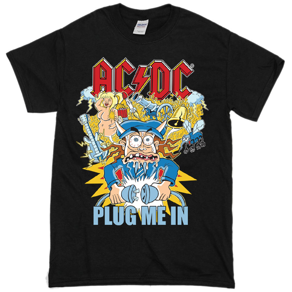 AC DC Unplugged T-shirt