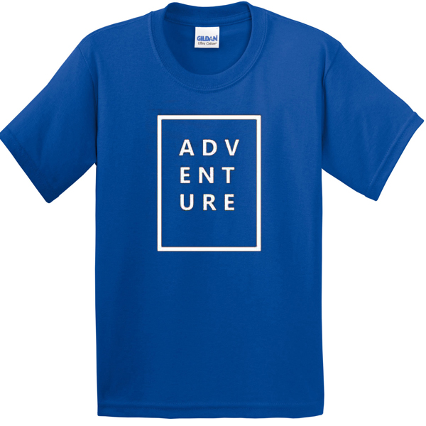 Adventure Blue T-shirt