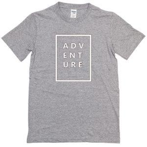 Adventure Grey T-shirt