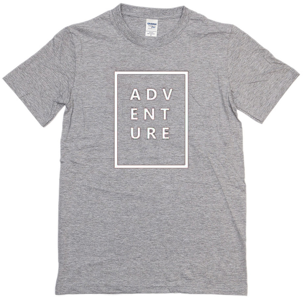 Adventure Grey T-shirt