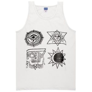 Ancient symbols tanktop