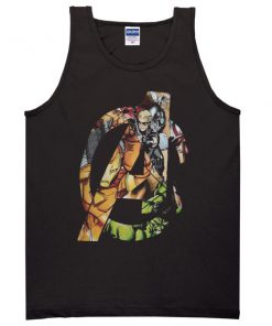 Avengers Cartoon Tanktop