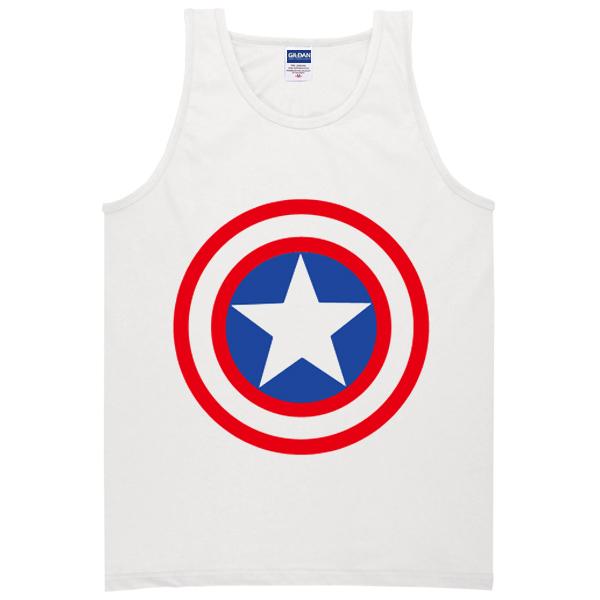 Capt. America Shield tanktop
