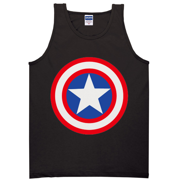 CAptain america Shield Tanktop