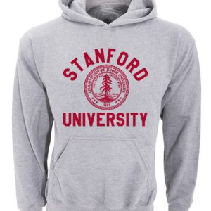 Stanford University Logo Grey Hoodie