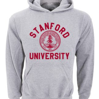 Stanford University Logo Grey Hoodie
