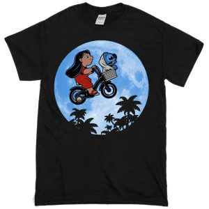 Stitch E.T parody T-shirt
