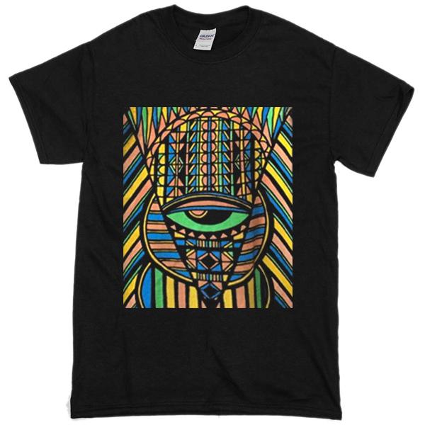 King Tut Black T-shirt