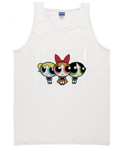 Women Power Puff Girl Three Tanktop