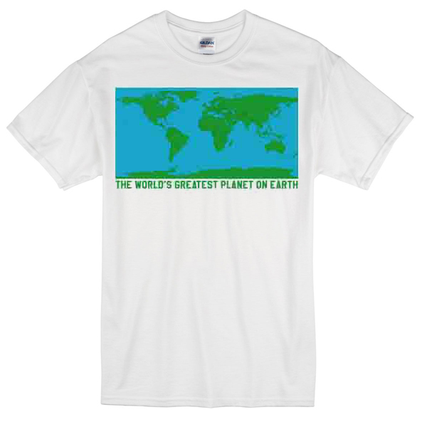World Map T-shirt
