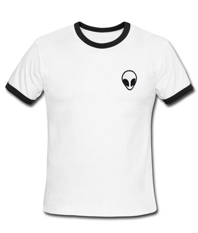 alien unisex ringer t-shirt