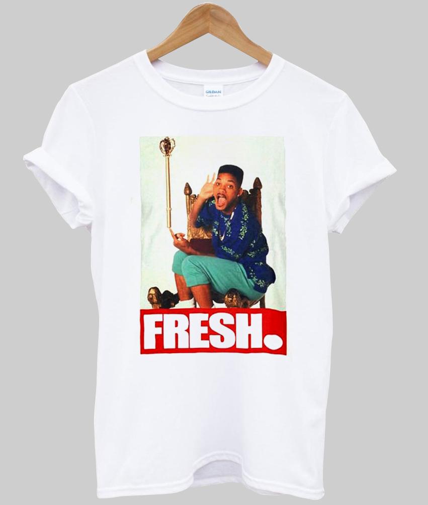 fresh prince kaos putih5