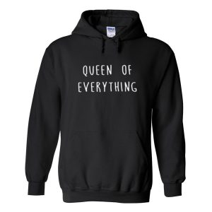queen of everything black Hoodies