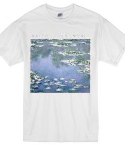 water lilies monet T-Shirt