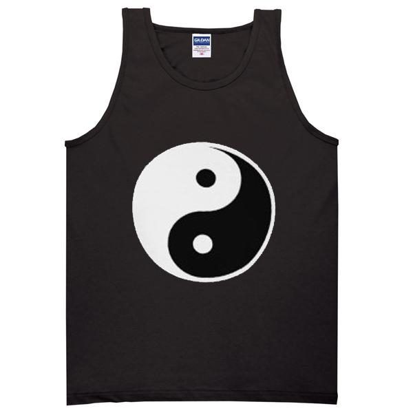 yin yang fine tanktop