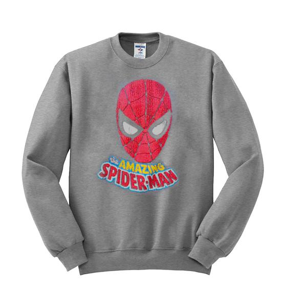 amazing spiderman sweatshirt