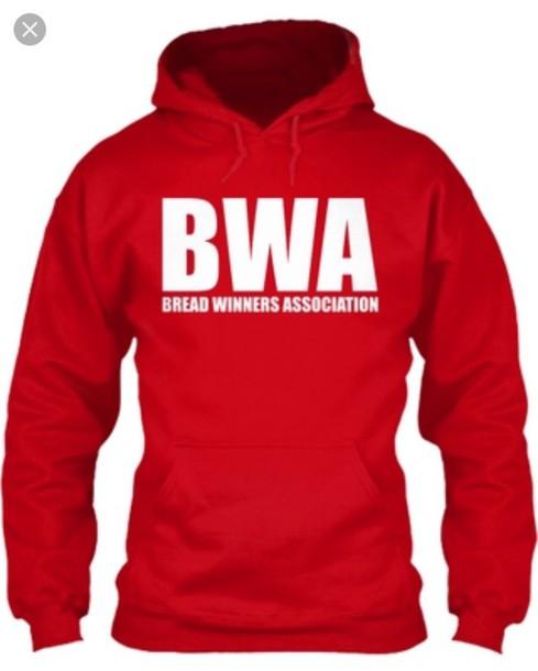 bwa red hoodie