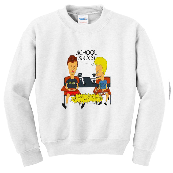 beavis-and-butt-head-school-sucks-unisex-sweatshirtsbeavis-and-butt-head-school-sucks-unisex-sweatshirts