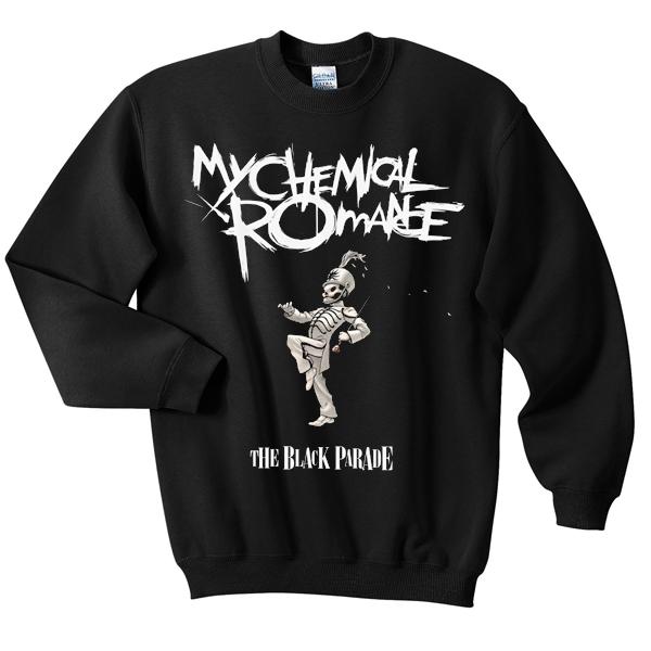 My Chemical Romance Parade Sweatshirt Basic Tees Shop