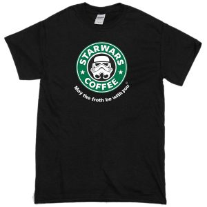 starwars coffee storm trooper funny t-shirts