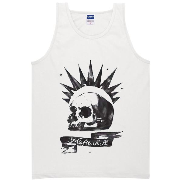 the-misfits-skull-logo-tanktop