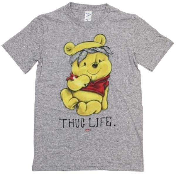 07f44fbdb326 Winnie The Pooh Thug Life T-shirt - Basic tees shop