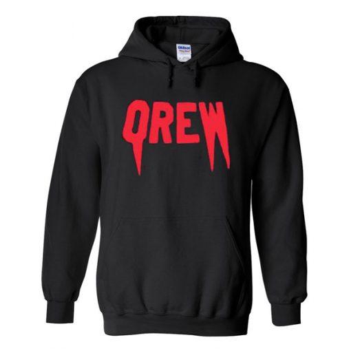 Qrew Black hoodies