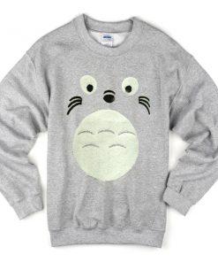 totoro-face-sweatshirt