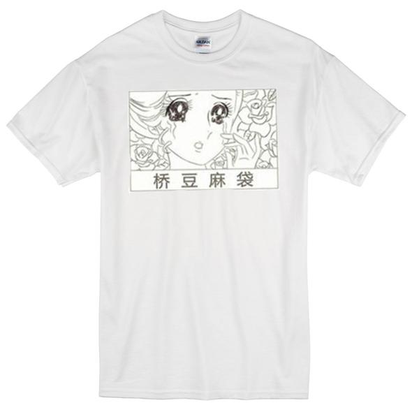 anime japanese girl t-shirt