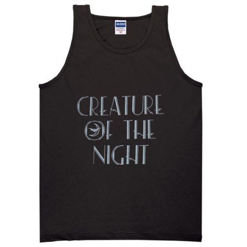 creature of the night tanktop