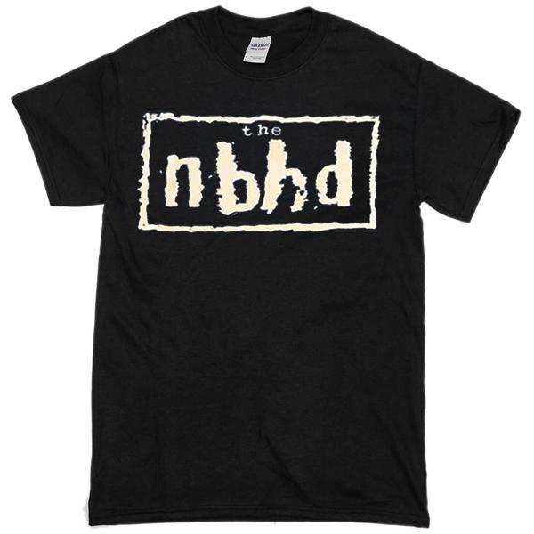 The nbhd font T-shirt