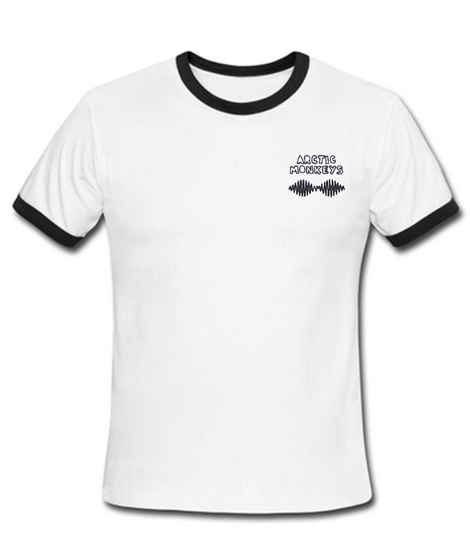 b8f764acf arctic monkeys ringer t-shirt - Basic tees shop