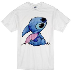 stitch alone t-shirt