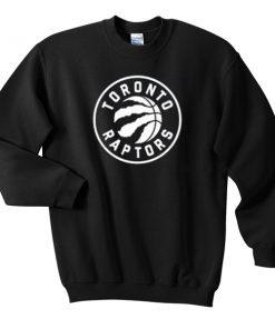 toronto raptor logo sweatshirt