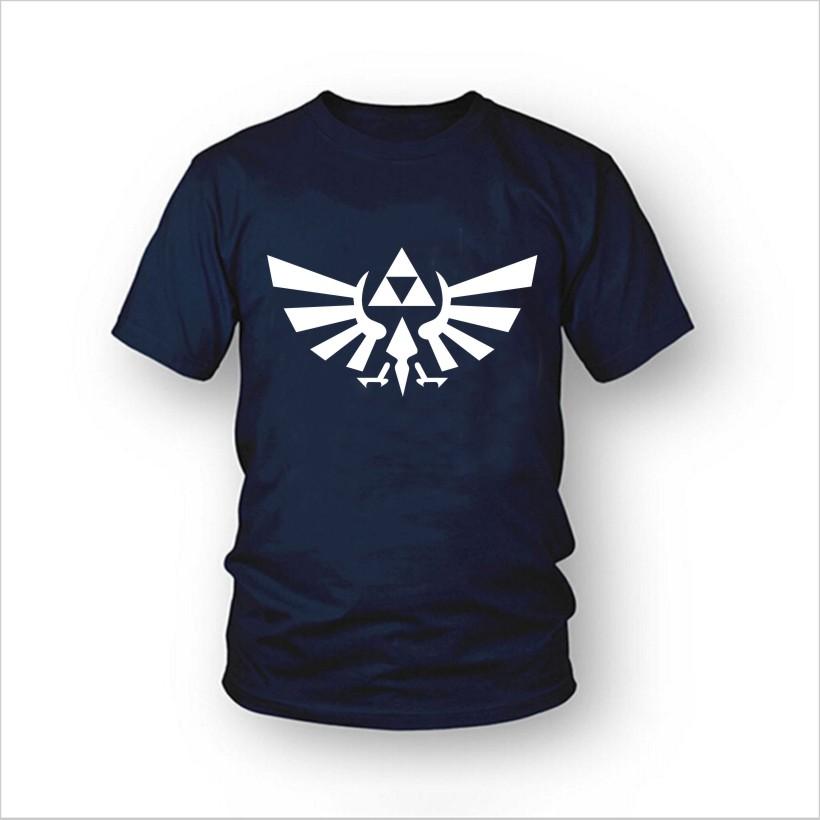 2d72ec735 the legend of zelda triforce logo T-shirt - Basic tees shop