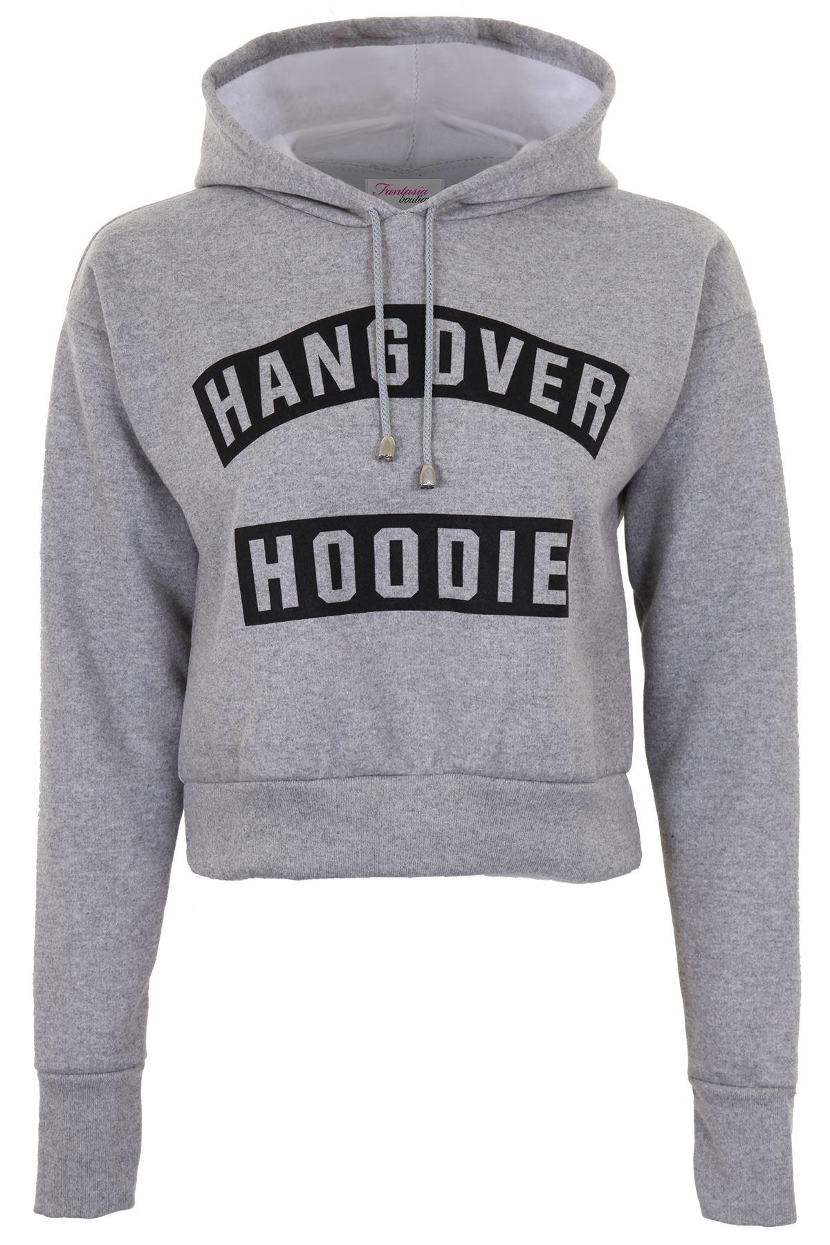 Hangover grey hoodie