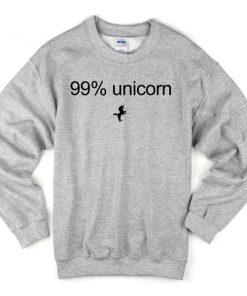 99% Unicorn Sweatshirt