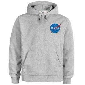 NASA Pocket Grey Hoodie