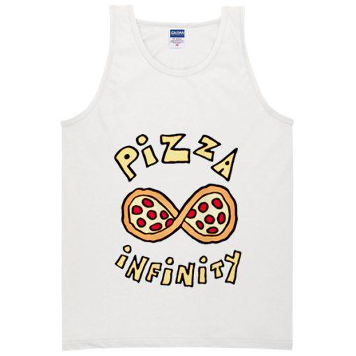 Pizza Infinity Crop Tank Top