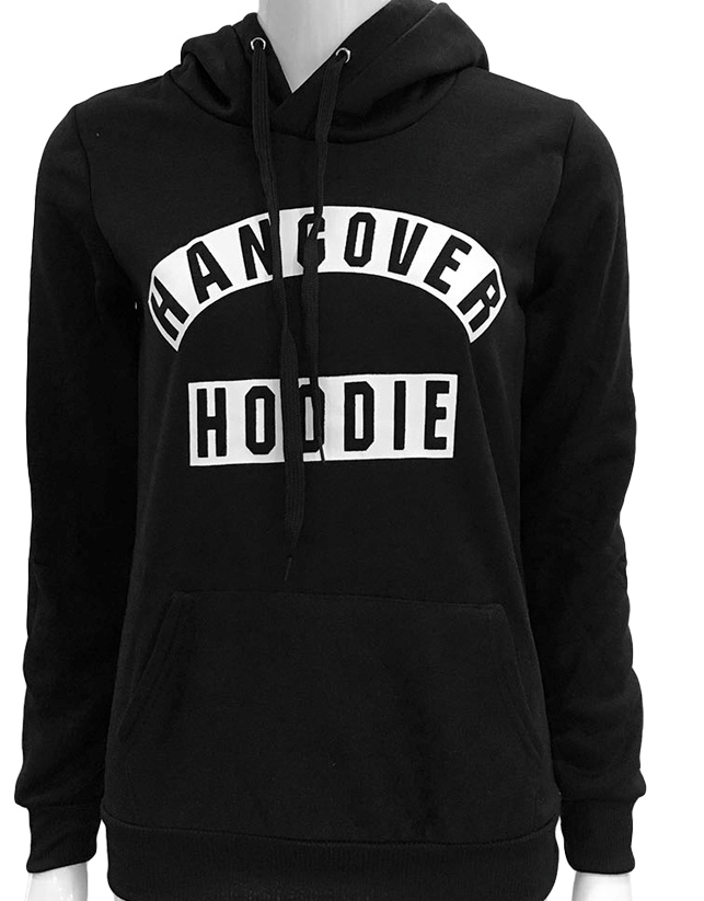 Hangover black hoodie