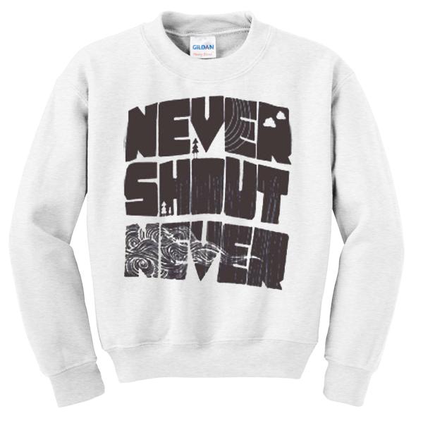 Nevershoutnever hoodie