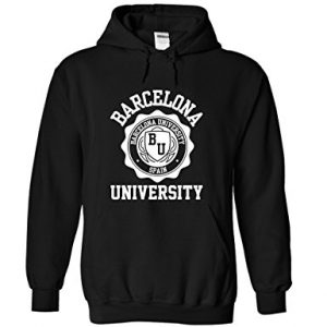 Barcelona University dark Hoodie